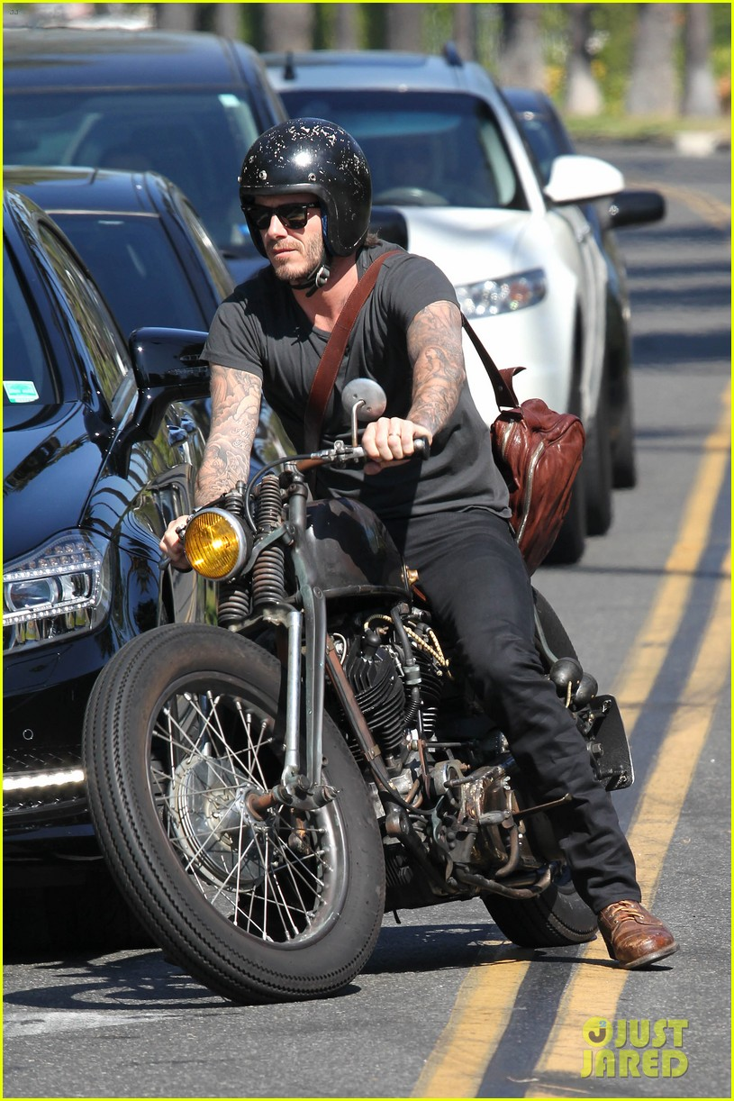 david beckham rides motorcycle in los angeles all week 05