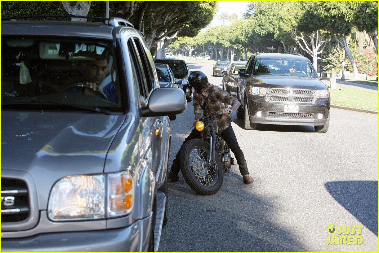 david beckham rides motorcycle in los angeles all week 232975323