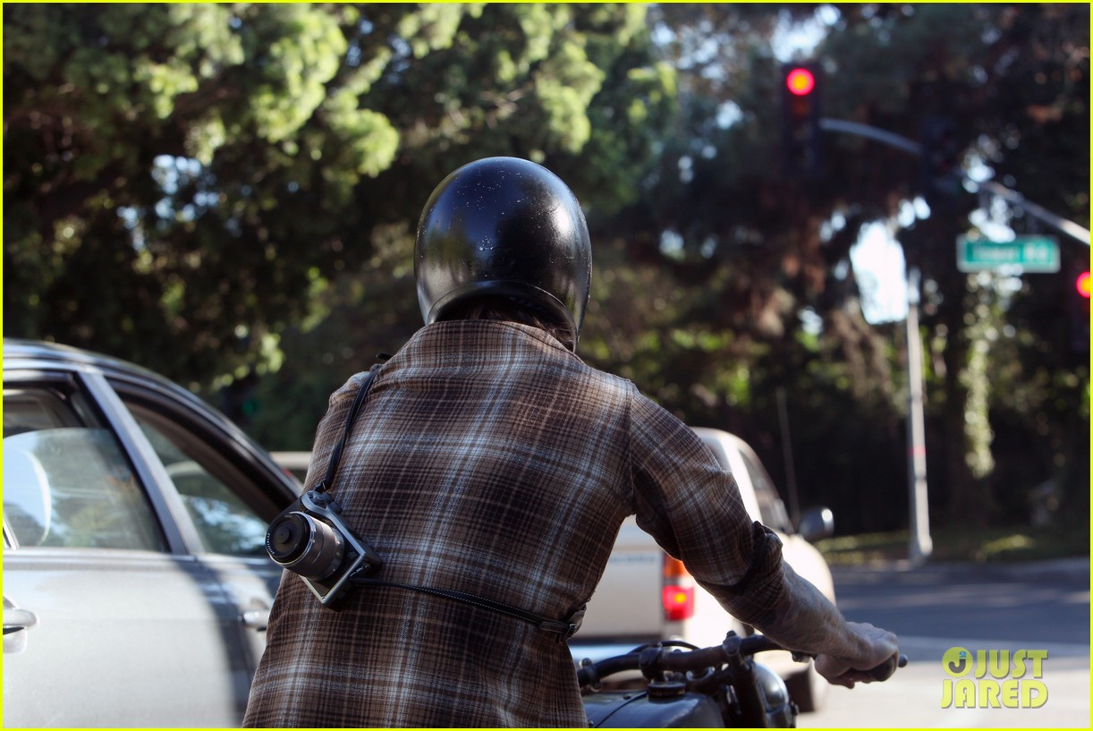 david beckham rides motorcycle in los angeles all week 262975326