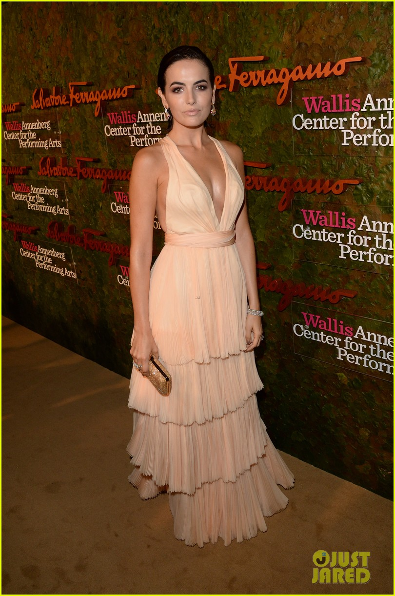 camilla belle joe jonas reunite at annenberg center gala 032974072