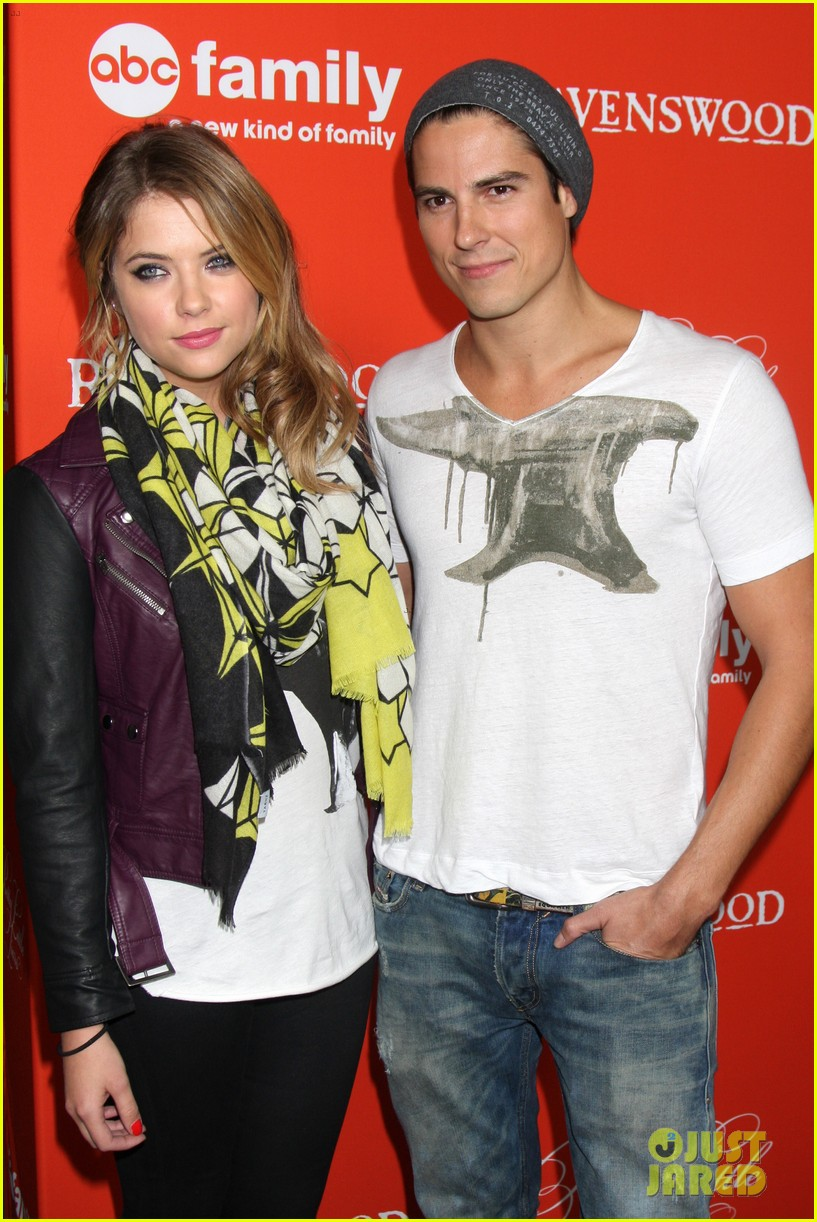 ashley benson lucy hale pretty little liars halloween screening 02