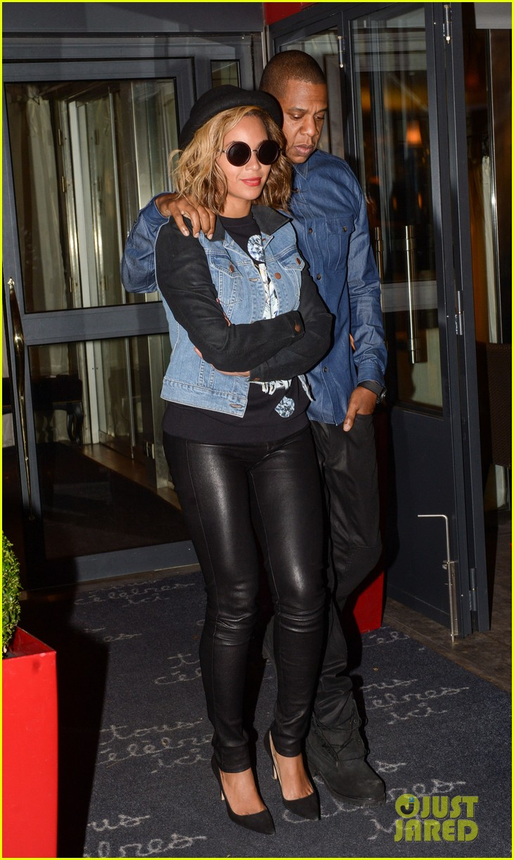 beyonce jay z dinner date in paris 062971594