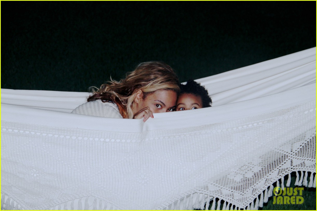 beyonce blue ivy play peek a boo in new tumblr pics 022974543