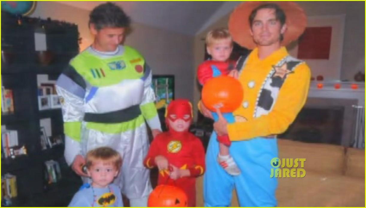 matt bomer shares adorable family photo from halloween 02