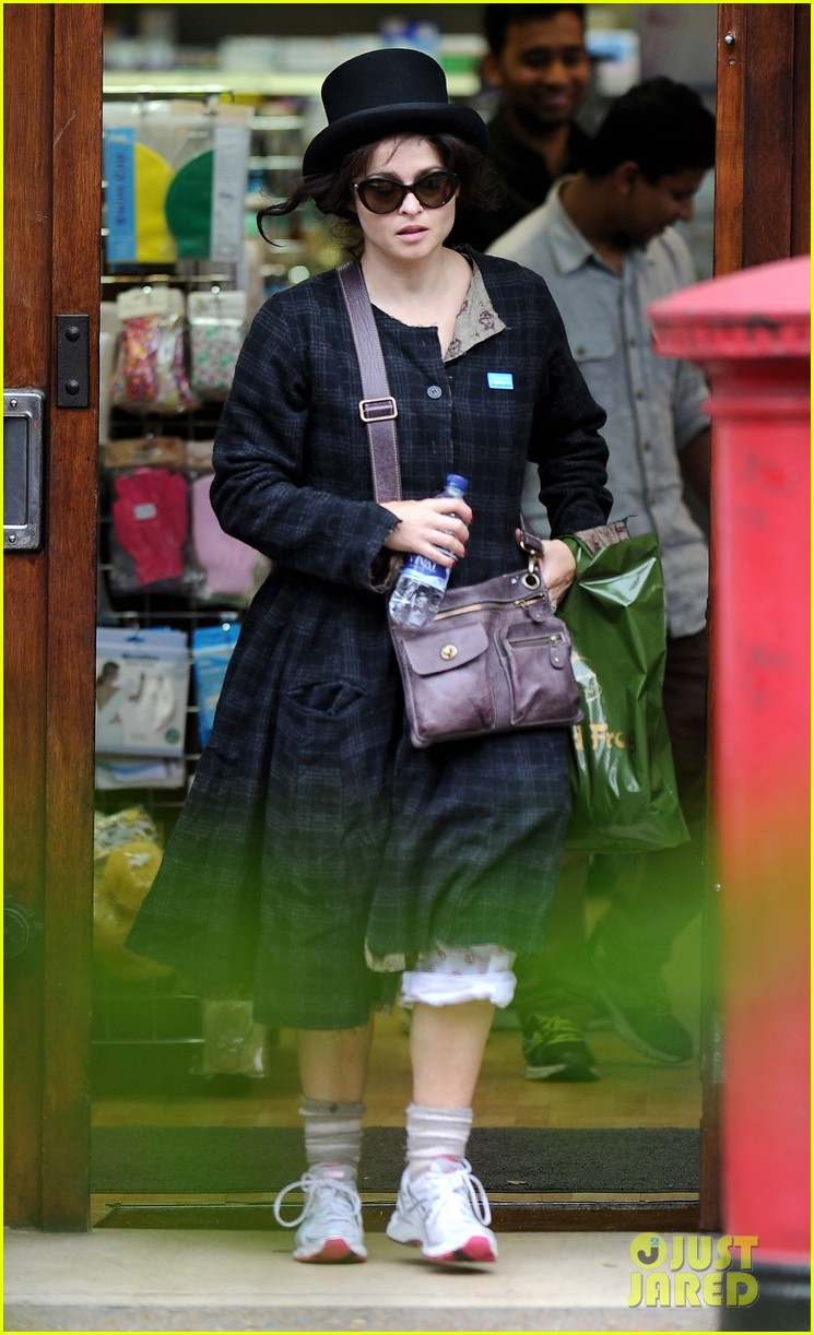 helena bonham carter steps out after tim burton cheating rumors 132965940