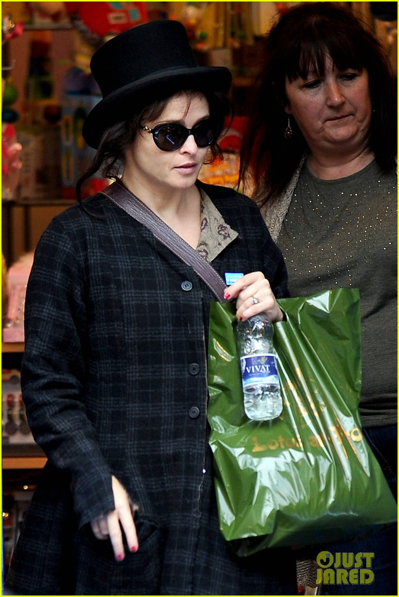 helena bonham carter steps out after tim burton cheating rumors 152965942