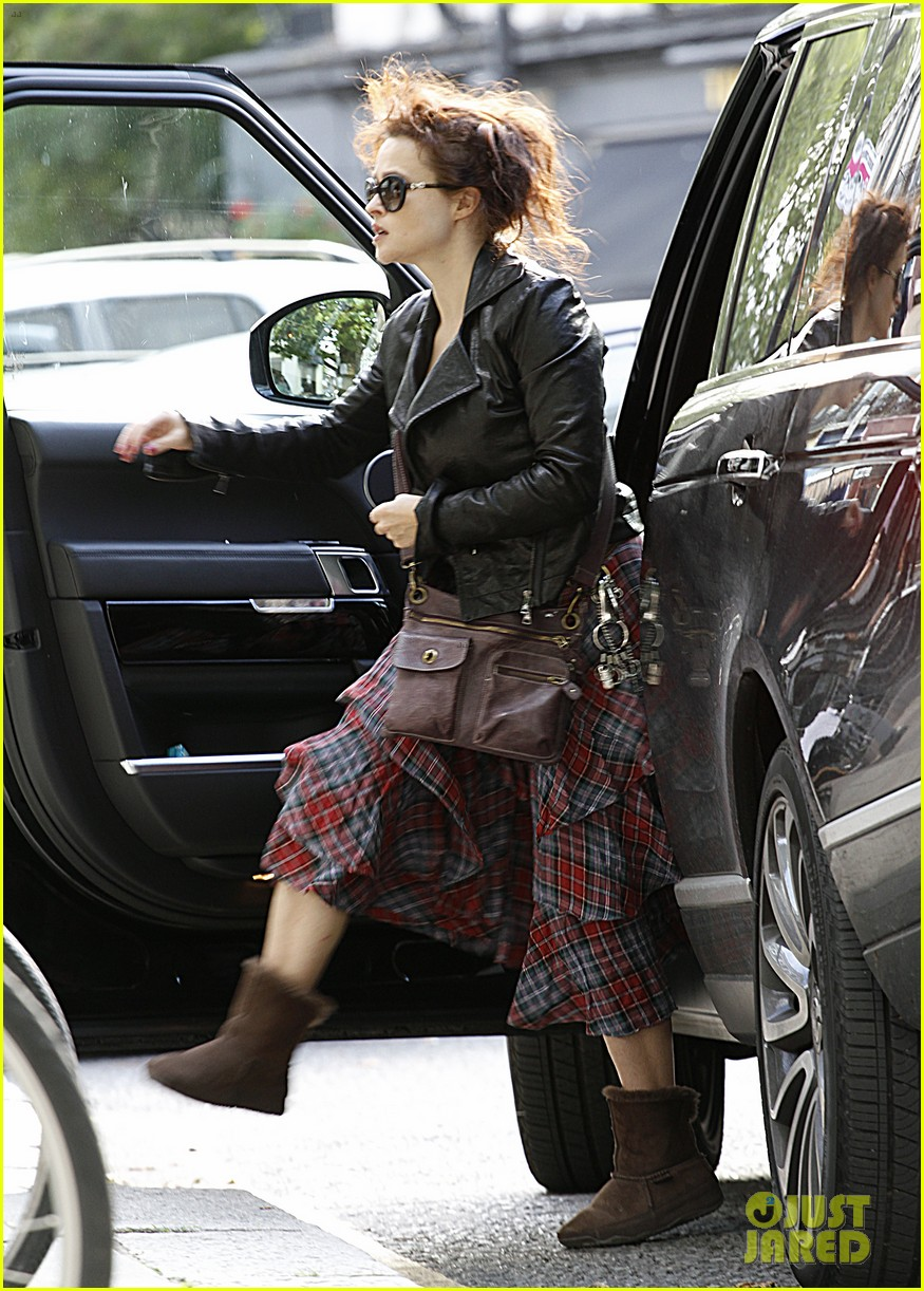 helena bonham carter steps out after tim burton cheating rumors 252965952