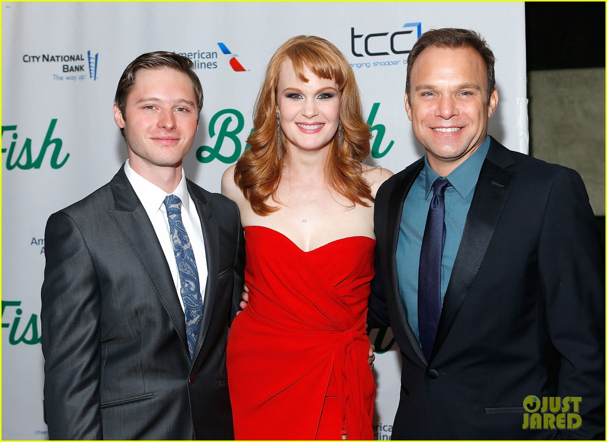 norbert leo butz kate baldwin big fish opening night 06
