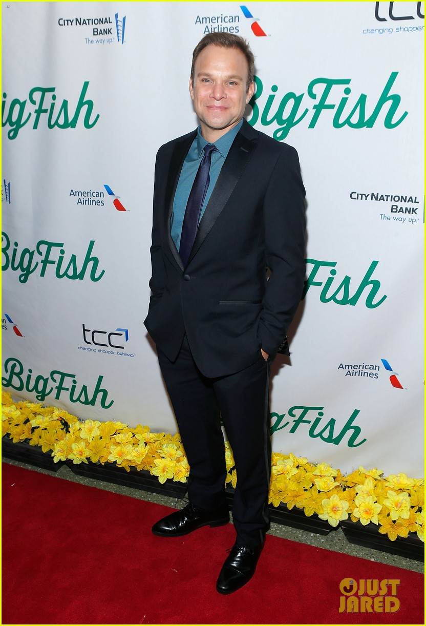 norbert leo butz kate baldwin big fish opening night 142967783