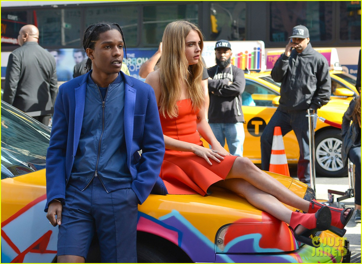 cara delevingne dkny shoot with asap rocky jourdan dunn 17