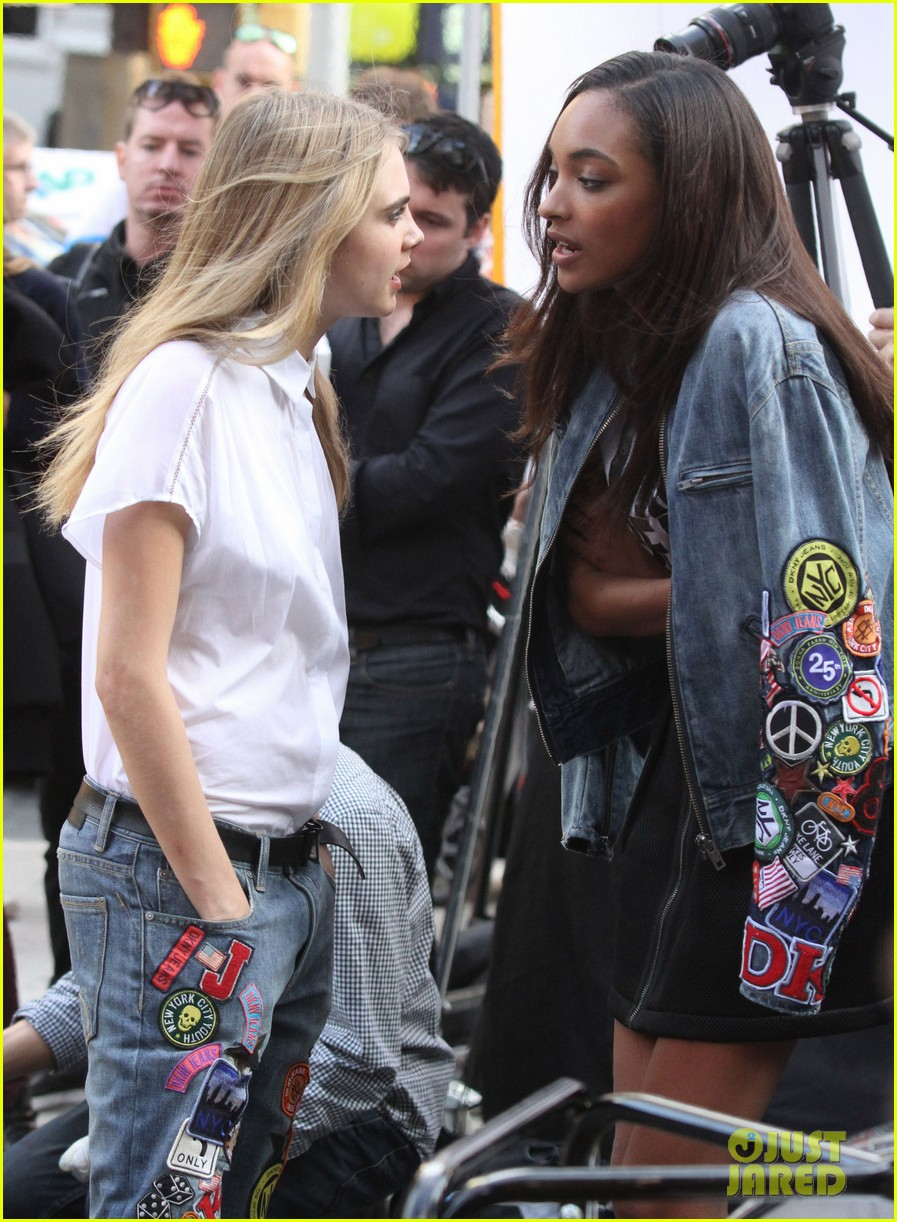 cara delevingne dkny shoot with asap rocky jourdan dunn 312972350