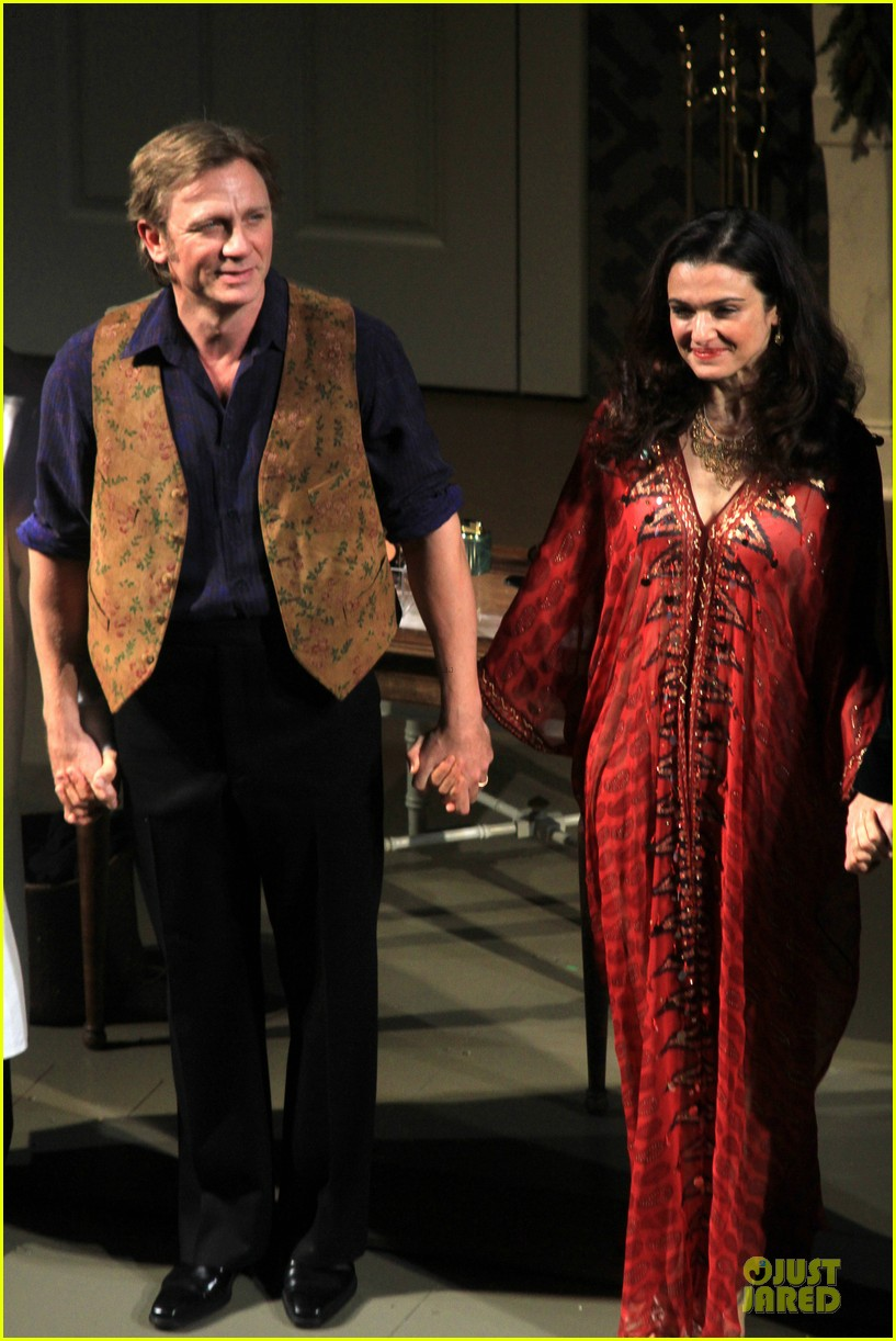 daniel craig rachel weisz betrayal first preview performance 01