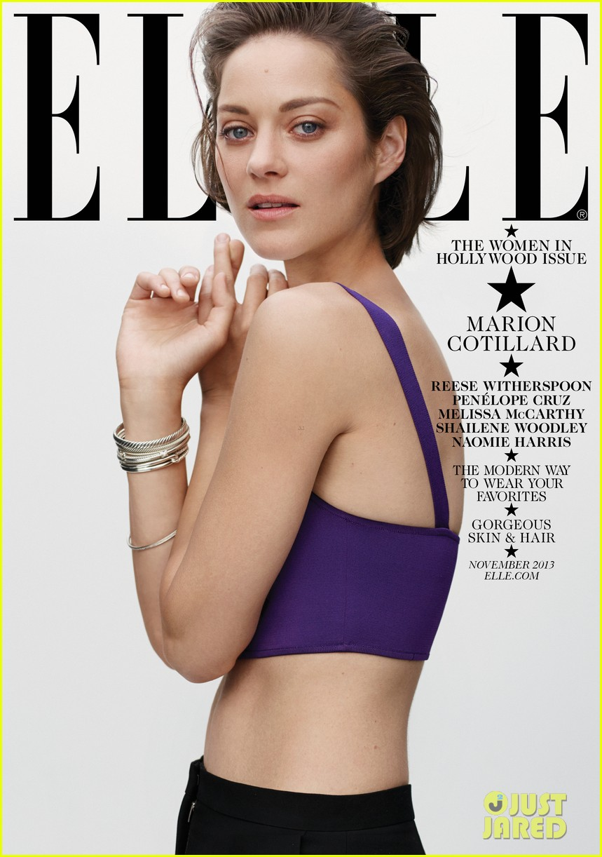 penelope cruz marion cotillard cover elle women in hollywood 012969662