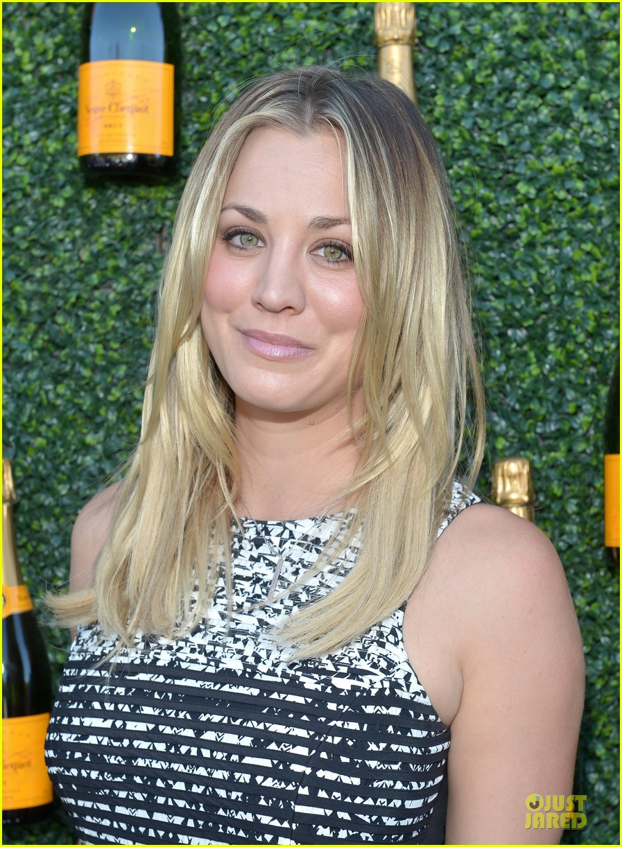 kaley cuoco ryan sweeting veuve clicquot polo classic kiss 122966905