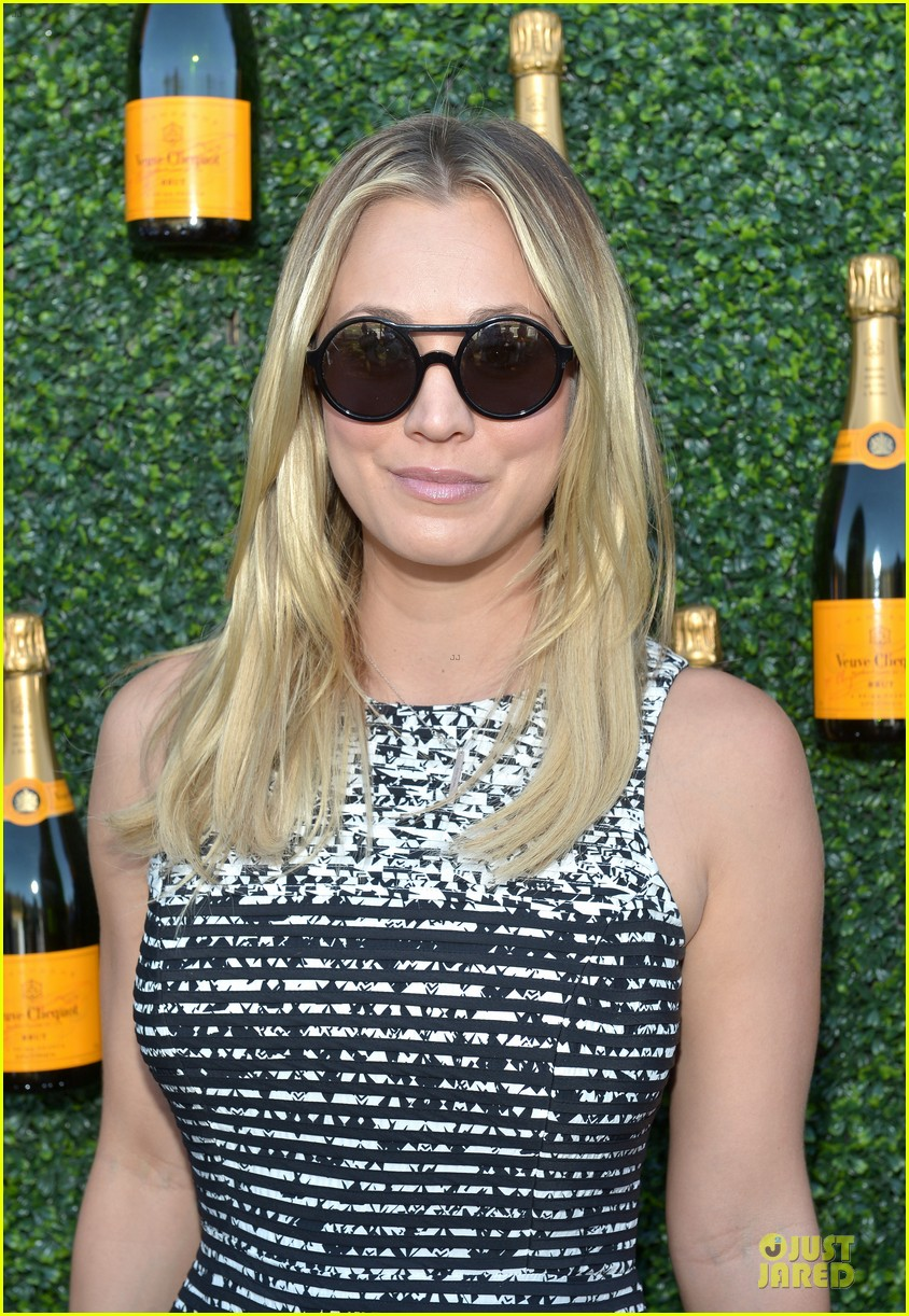 kaley cuoco ryan sweeting veuve clicquot polo classic kiss 172966910