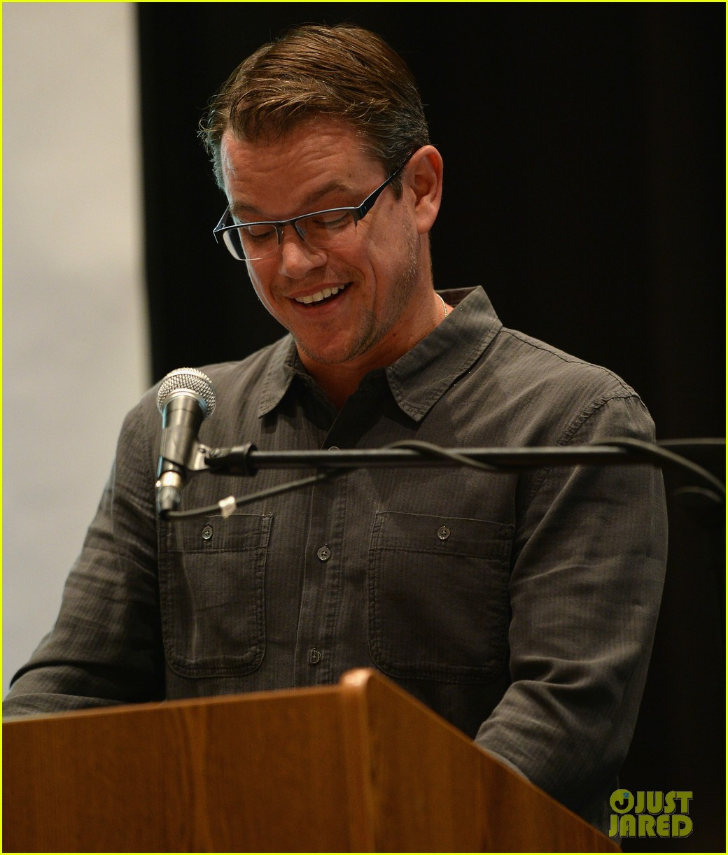 matt damon education on the edge lecture series 042965043