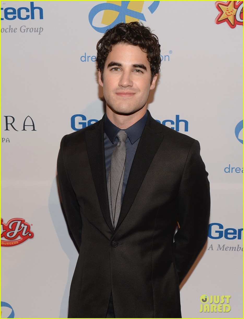 darren criss jane lynch celebration of dreams gala 2013 01