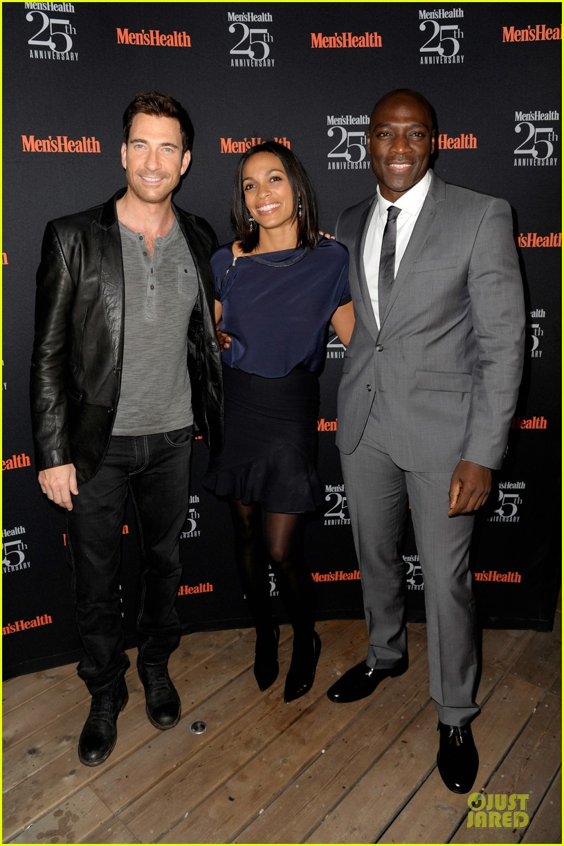 rosario dawson taye diggs men health celebration 01