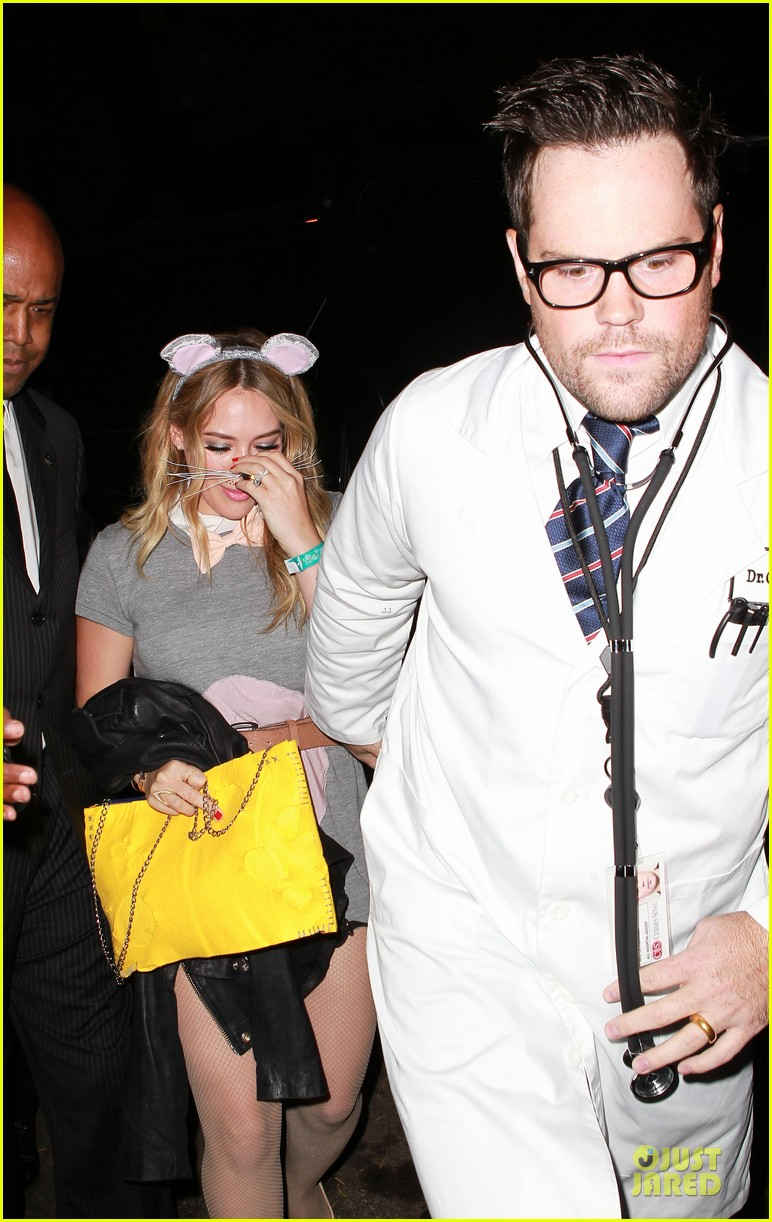 Hilary Duff & Mike Comrie: Casamigos Halloween Party 2013!: Photo ...