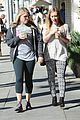 hilary duff grabs coffee with gal pal in beverly hills 09
