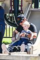hilary duff mike comrie slides with luca 12