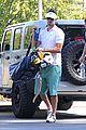 josh duhamel golf course fun with male pal 03