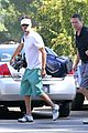 josh duhamel golf course fun with male pal 10