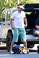 josh duhamel golf course fun with male pal 11