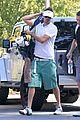 josh duhamel golf course fun with male pal 12