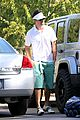 josh duhamel golf course fun with male pal 14