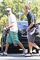 josh duhamel golf course fun with male pal 19