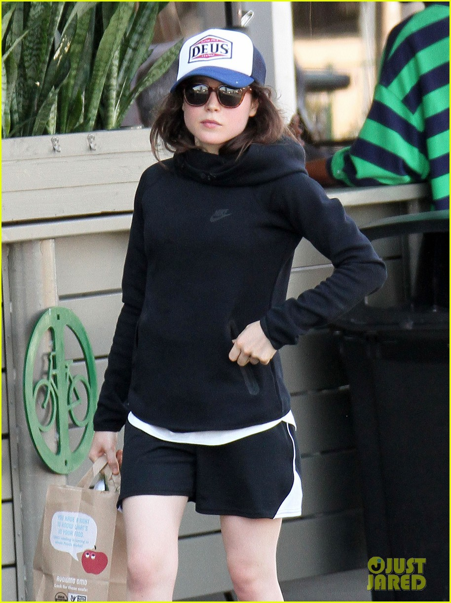 ellen page whole foods after paris trip 02
