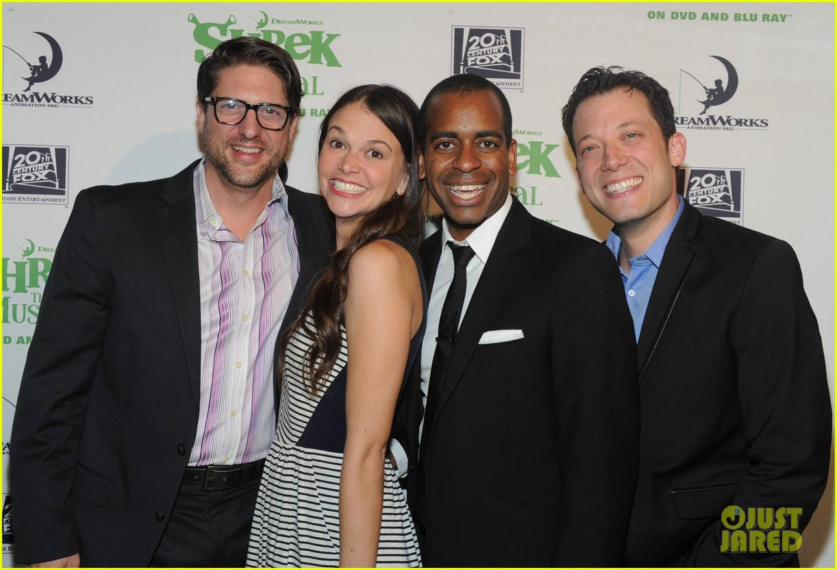 sutton foster launches shrek the musical dvd 092973189
