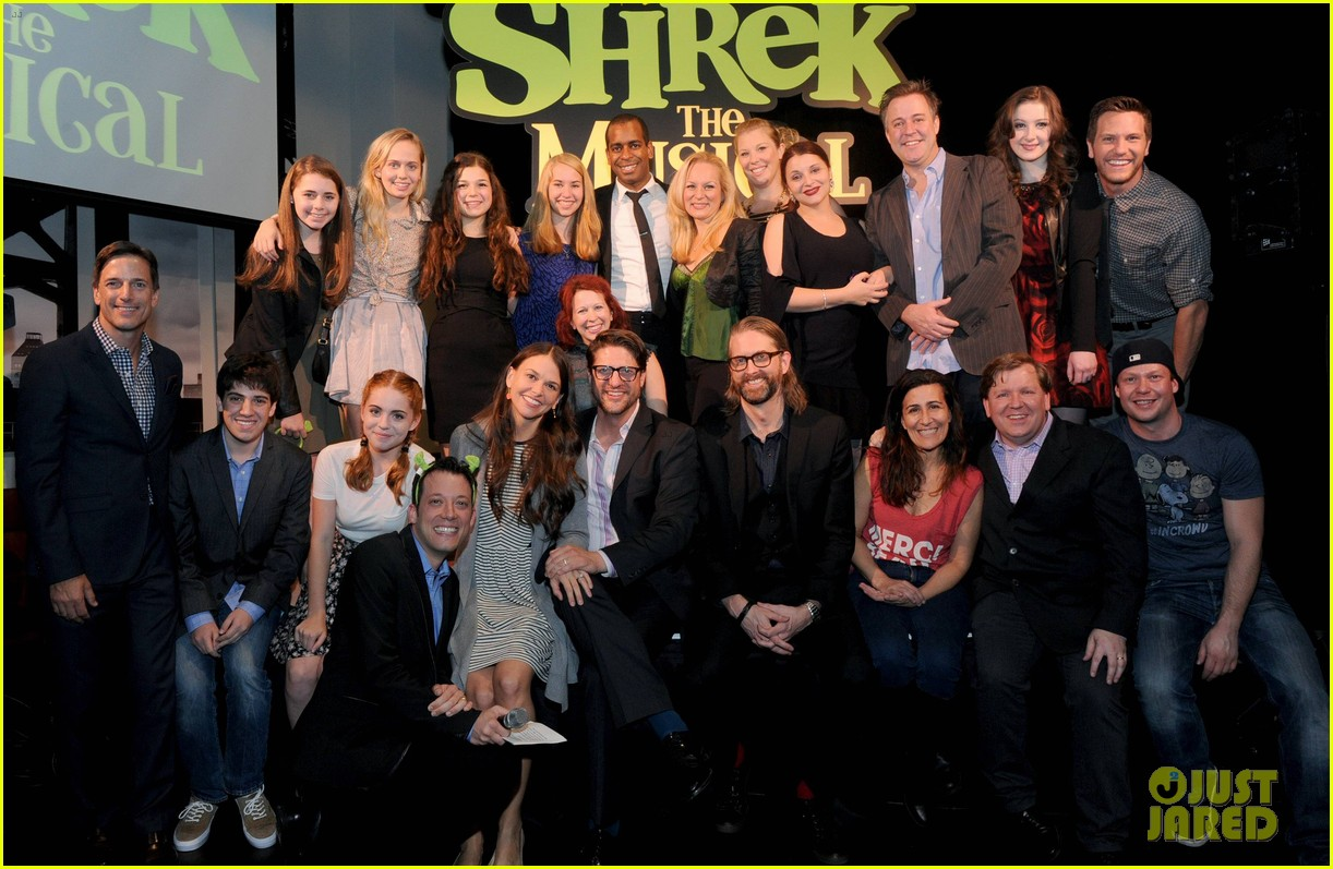 sutton foster launches shrek the musical dvd 262973206