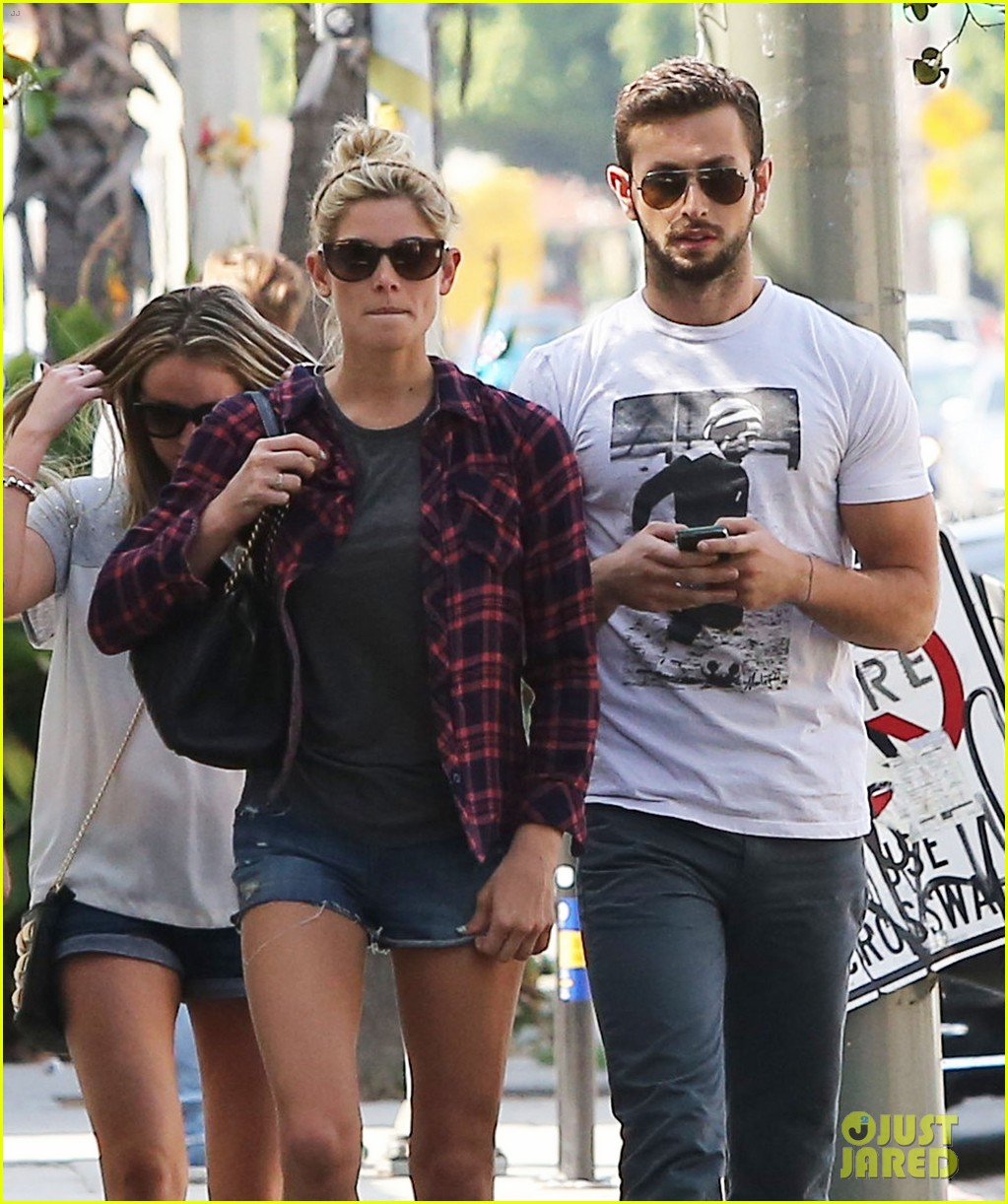 ashley greene paul khoury hang out with friends 082965414