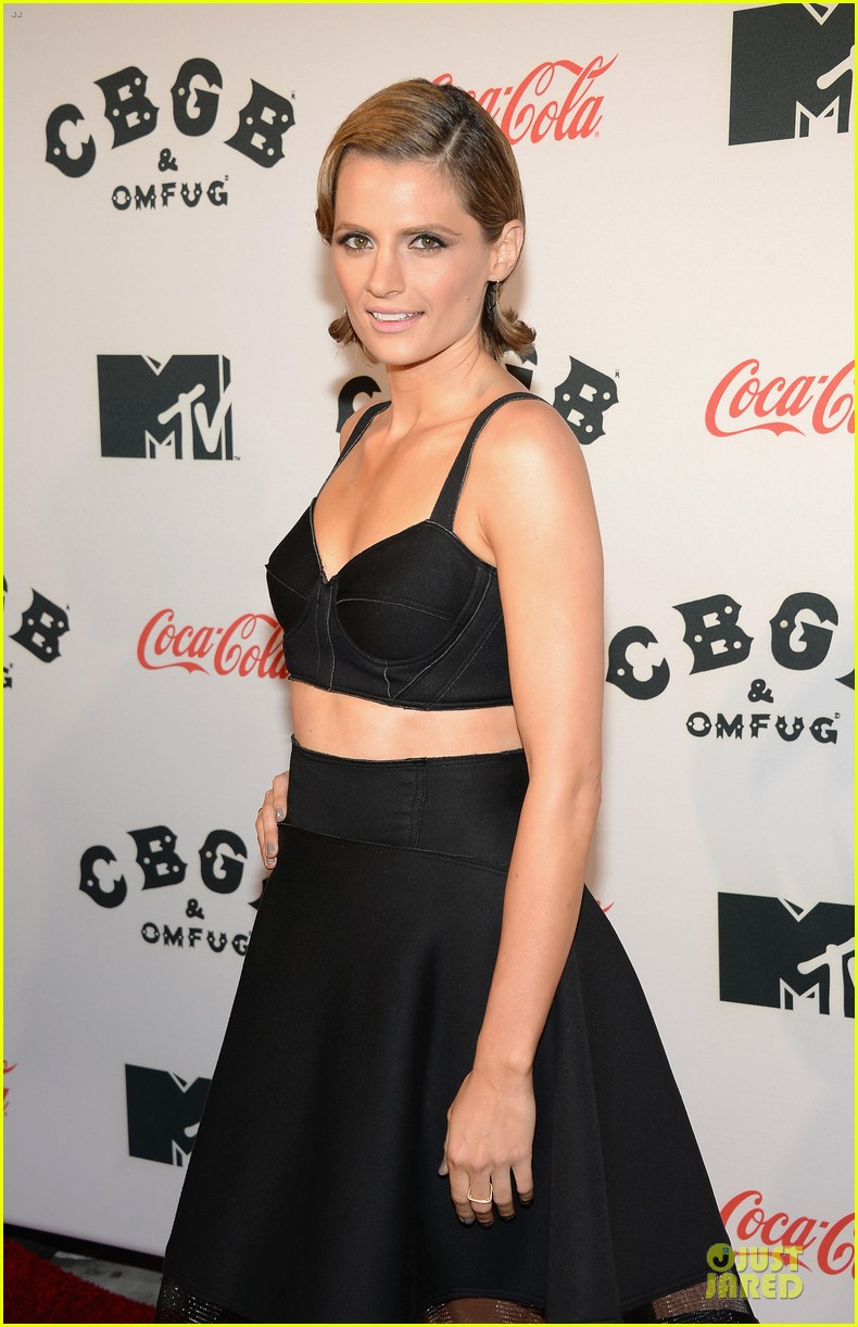 ashley greene stana katic cbgb nyc premiere 09