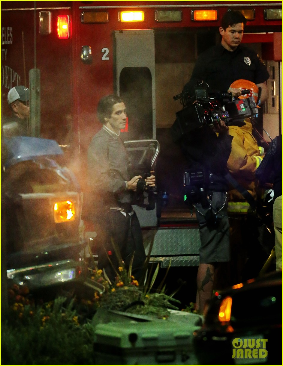 jake gyllenhaal overnight nightcrawler shoot 12
