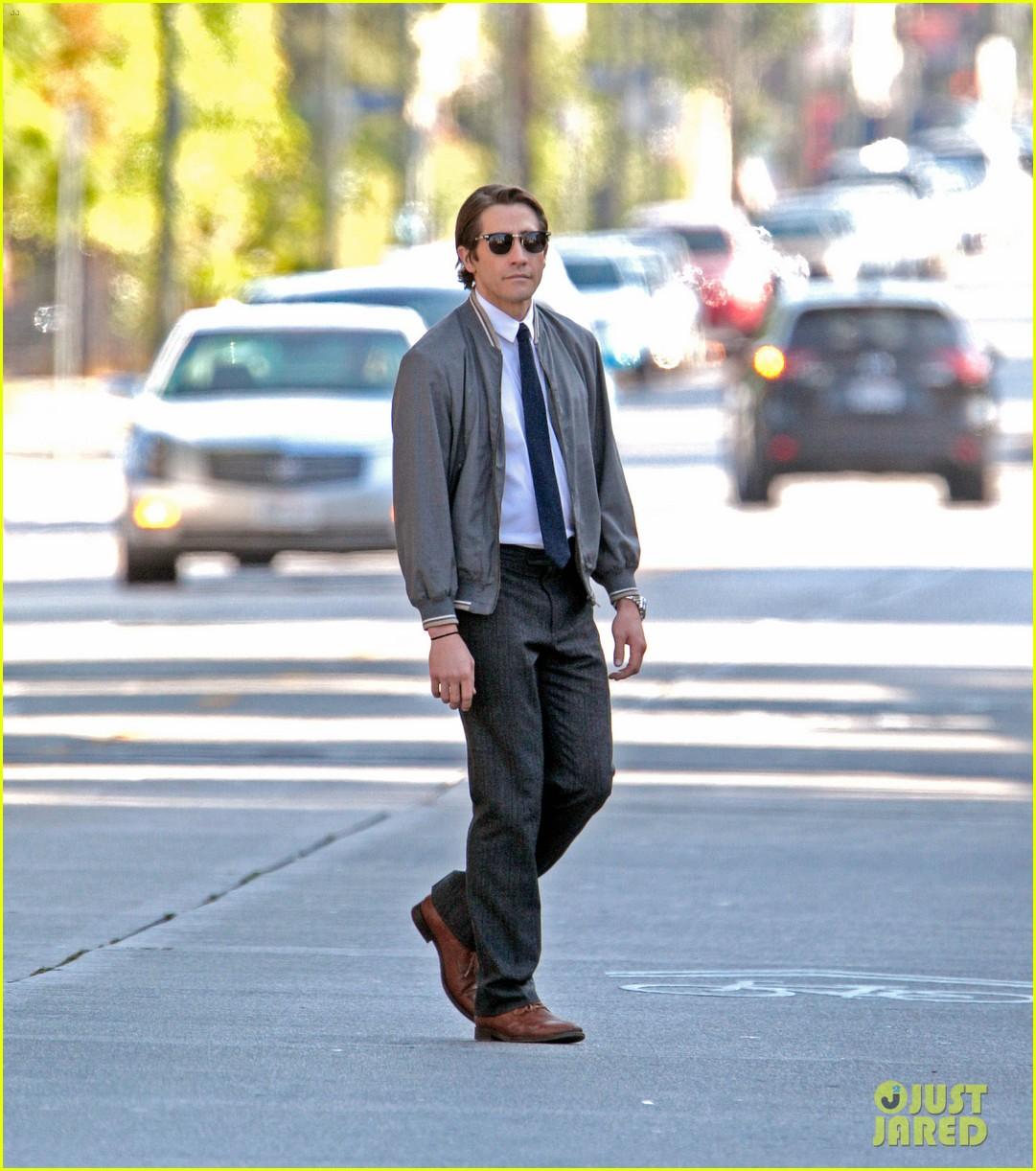 jake gyllenhaal looks slimmed down for nightcrawler shoot 08