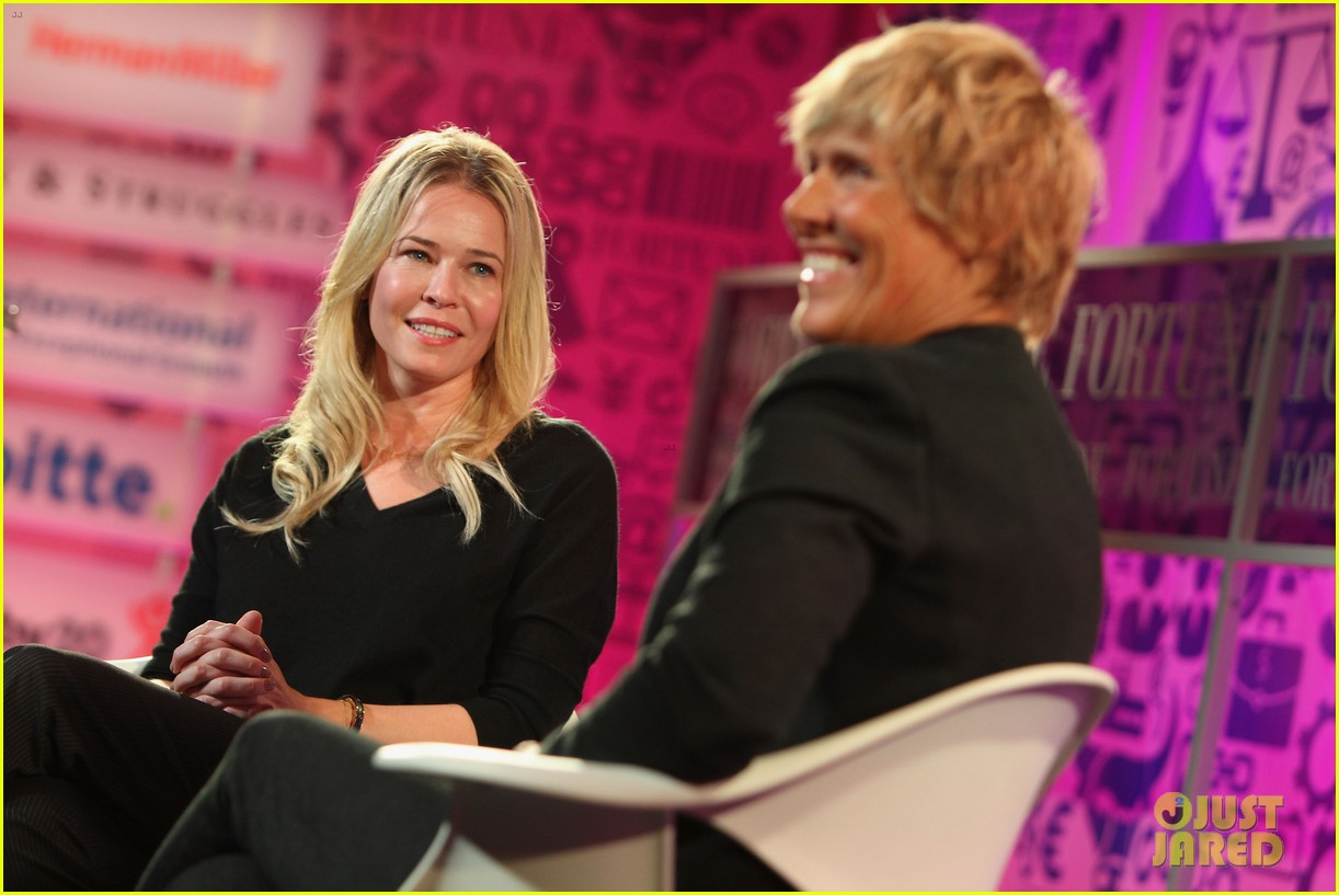 chelsea handler interviews diana nyad at fortune summit 05
