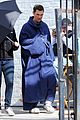 anne hathaway matthew mcconaughey blue robes for interstellar 07
