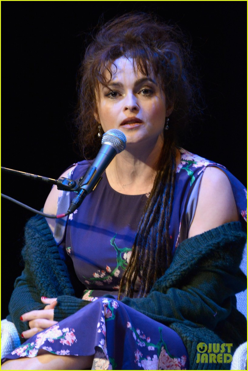 helena bonham carter rocks cornrows at hamptons film fest 07