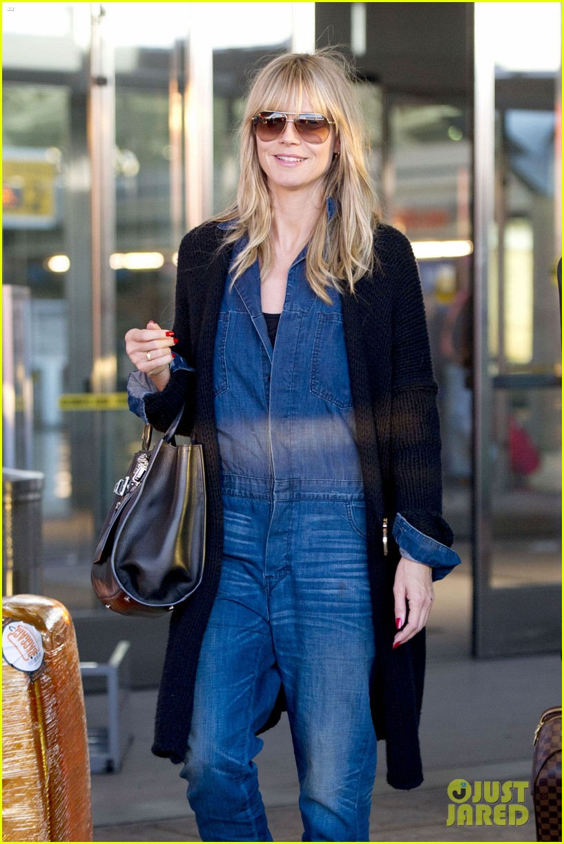 heidi klum lands in nyc after la hospital visit 27