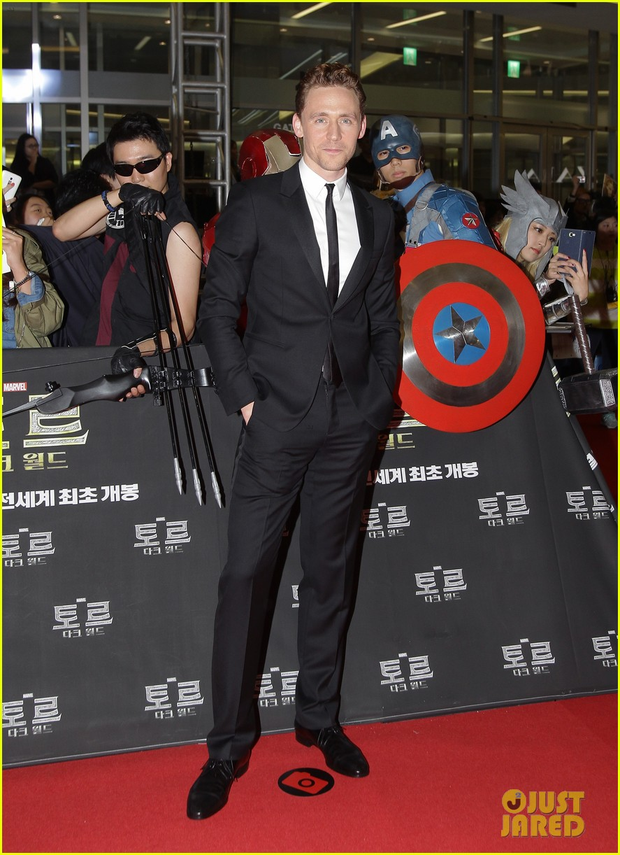 tom hiddleston thor the dark world south korea premiere 10