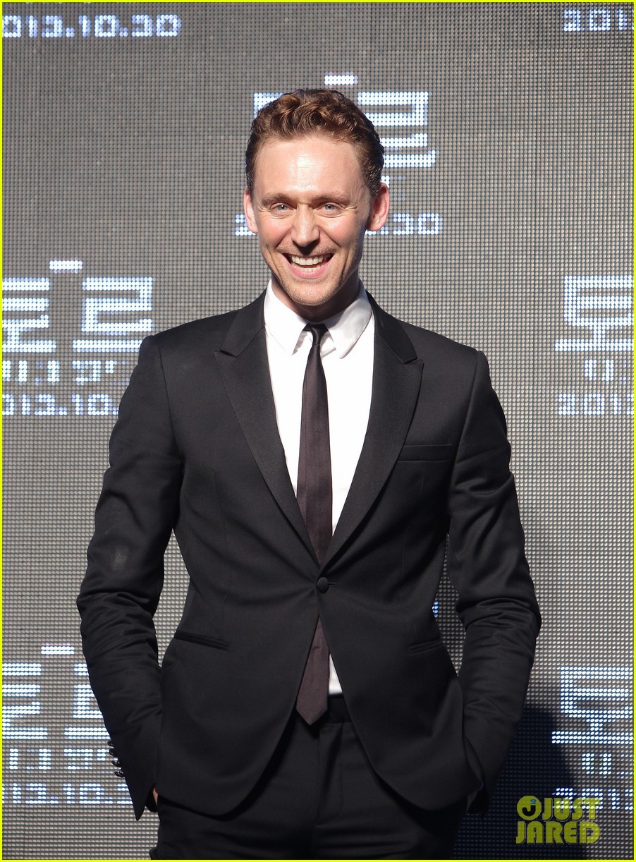 tom hiddleston thor the dark world south korea premiere 15