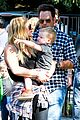 hilary duff mike comrie halloween party with luca 12