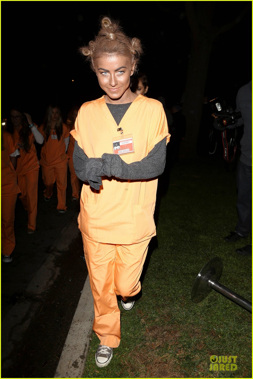 julianne hough crazy eyes orange is the new black halloween costume 01