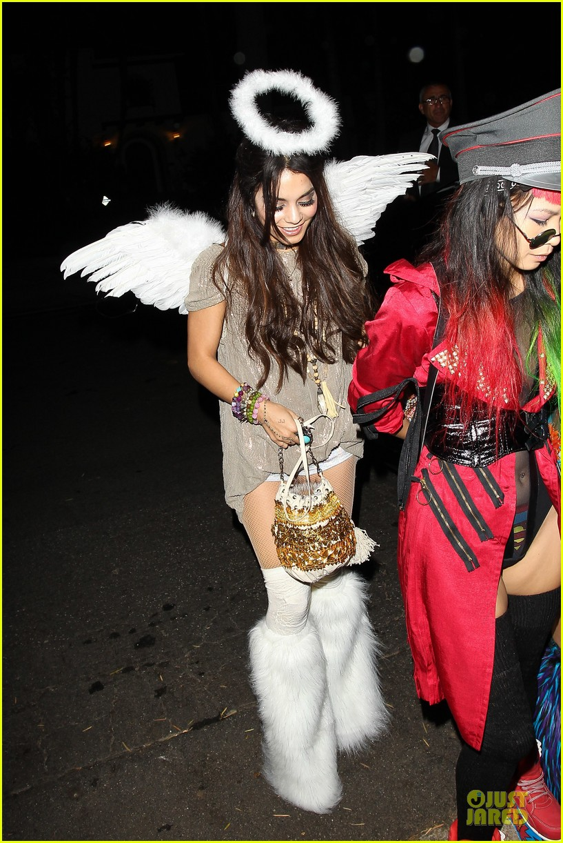 vanessa hudgens angel at casamigos halloween party 2013 05