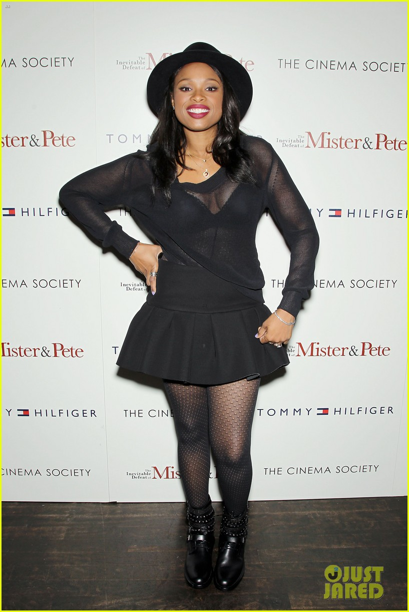jennifer hudson alicia keys mister pete nyc screening 012964821