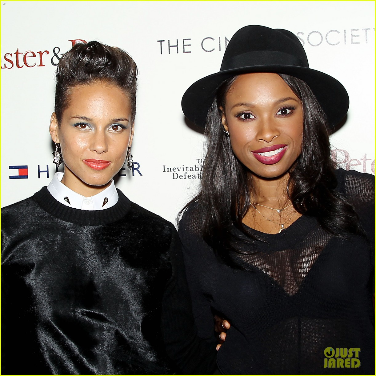 jennifer hudson alicia keys mister pete nyc screening 262964846