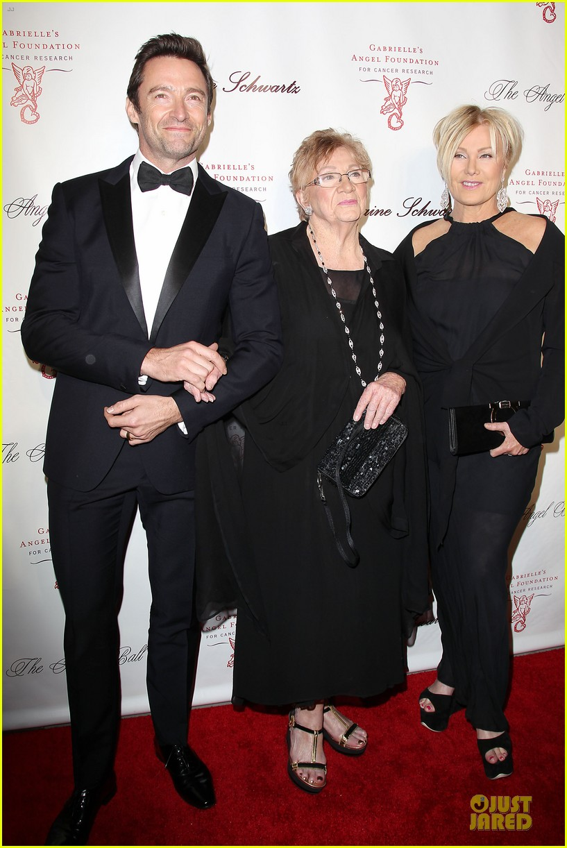hugh jackman angel ball couple 012982613